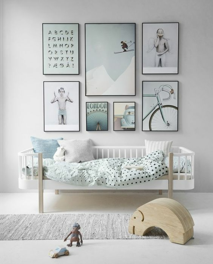idees pour une chambre scandinave stylee