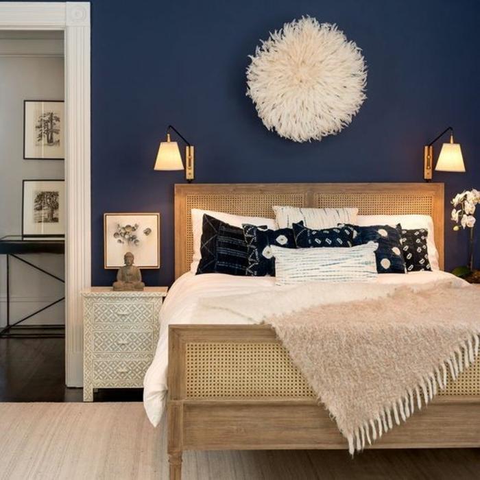 la couleur indigo pour sublimer son interieur 74 idees remarquables