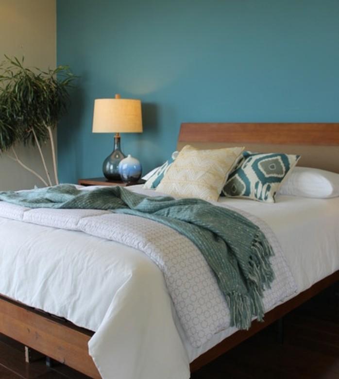Decoration Chambre Bleu Canard