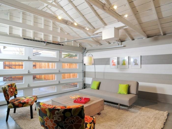 Amenagement Garage Habitation Moderne Accueil Design Et