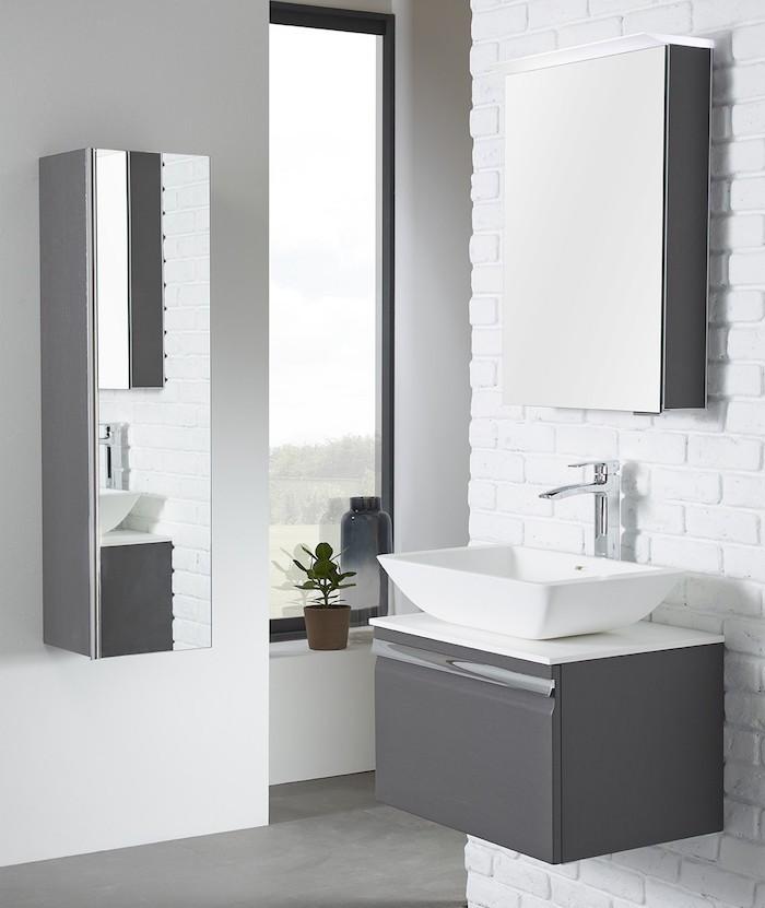 Meuble salle de bain deliss de maison meuble de salle de bains ceylan cooke lewis castorama for Comcooke et lewis salle de bain