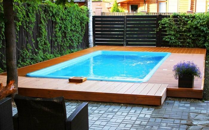 Installer une petite piscine coque  le luxe est dj abordable  Archzinefr