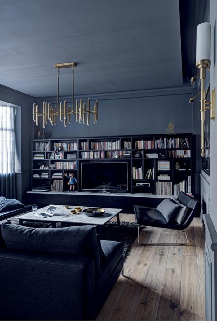 Le salon gris et noir  comment le dcorer  Archzinefr
