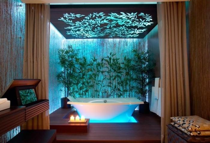 1001 designs uniques pour une salle de bain turquoise