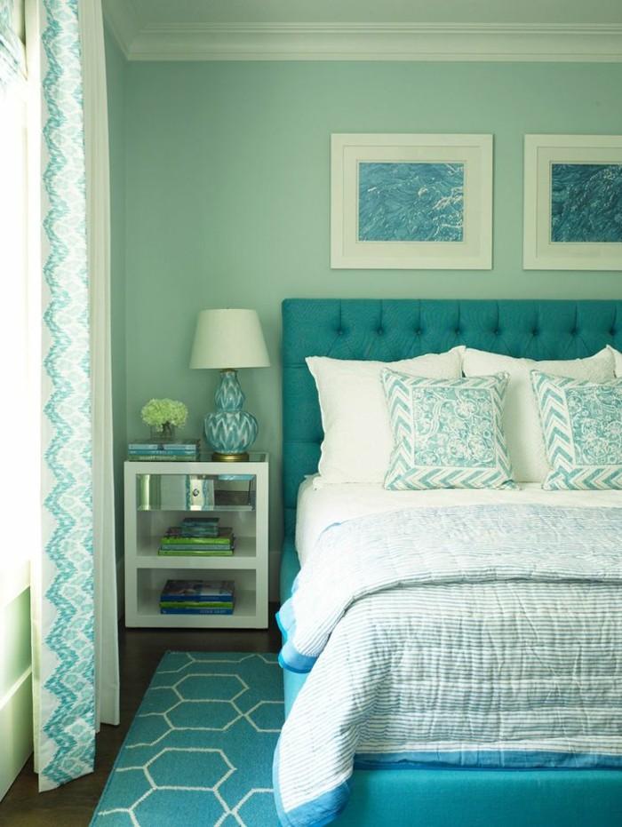 Tapis Chambre Vert Et Bleu