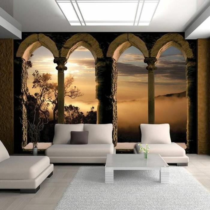 1001 modles de papier peint 3d originaux et modernes