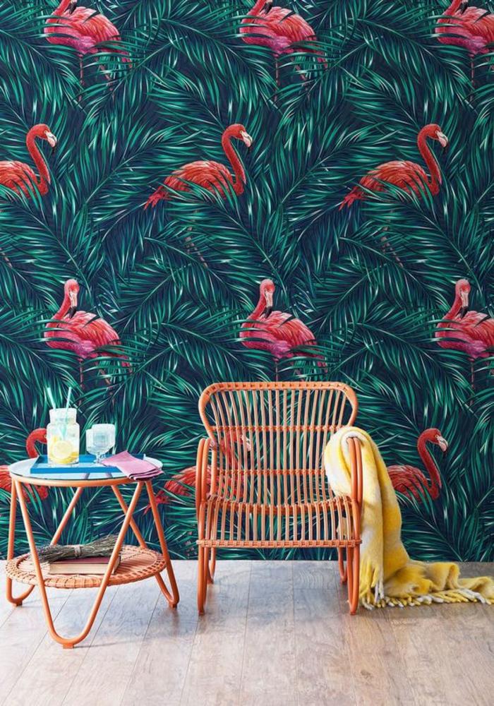 1001 modles de papier peint tropical et exotique