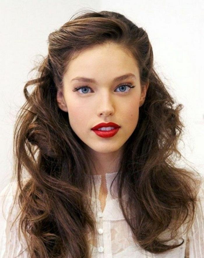idees pour une coiffure vintage