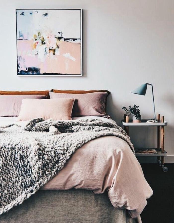 Chambre gris et rose fushia d coration de maison id es de design d 39 int rieur - Chambre gris et rose ...