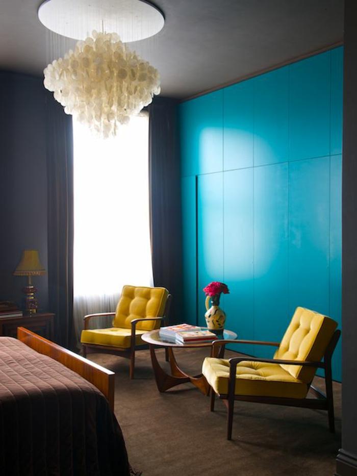 sofa chaises white leather sale 1001+ décors avec la couleur canard pour trouver ...