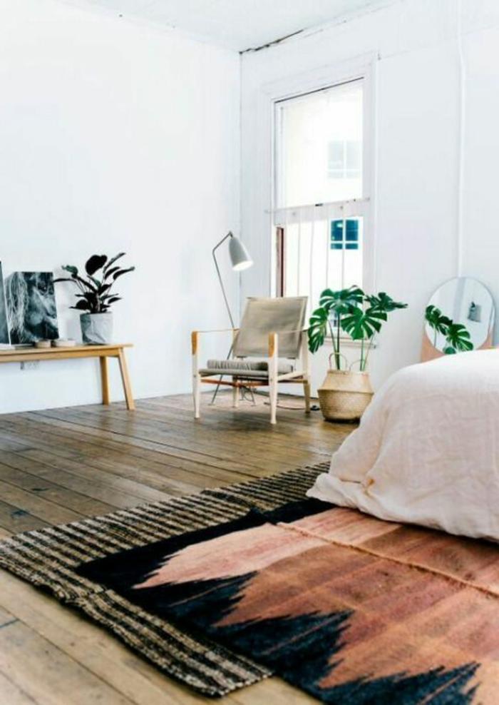 Minimaliste Chambre Marron Et Turquoise Innovation – Belles Idées de ...
