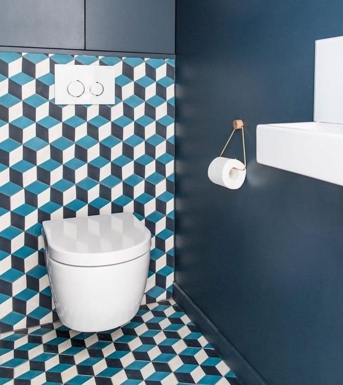 Idee Deco Toilette Retro Ide Inspirante