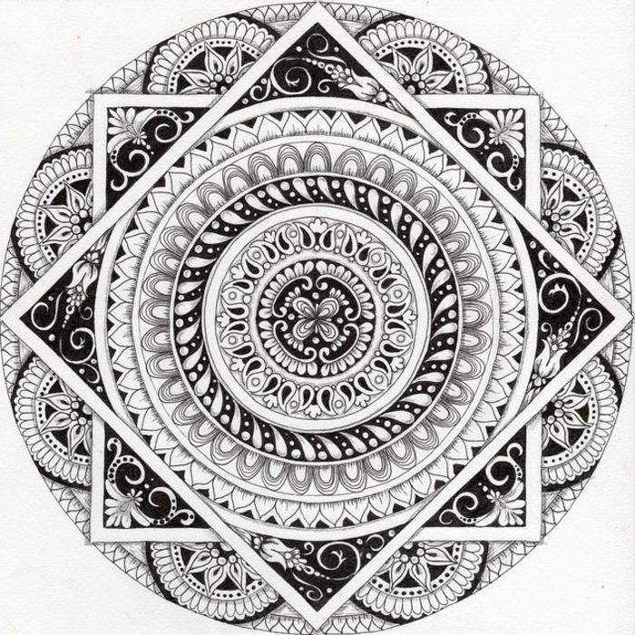 1001 Ides Et Techniques Pour Faire Un Mandala