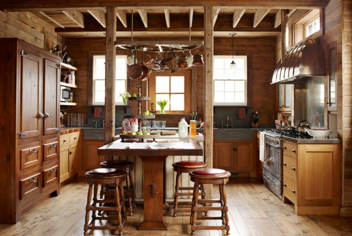 1001 Designs Et Conseils Pour La Cuisine Rustique Parfaite