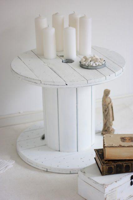 1001  ides astuces brico pour crer une table en touret