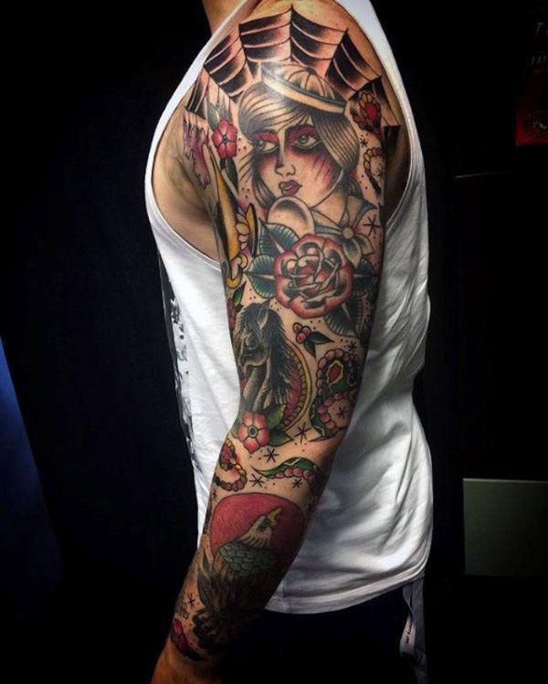 20 Vintage Style Rose Tattoos Dark Skin Ideas And Designs