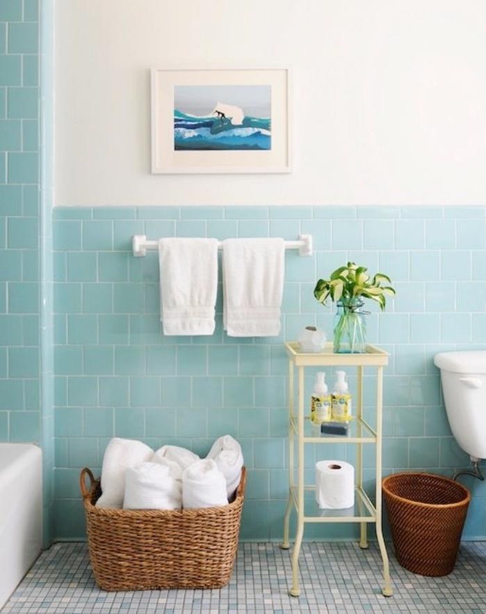 quelle couleur viter dans une salle de bains salle de bain vert d eau photos vert et bleu deco