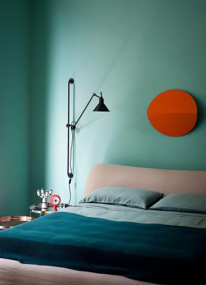 Chambre Vert Beige - Décoration de maison idées de design d ...