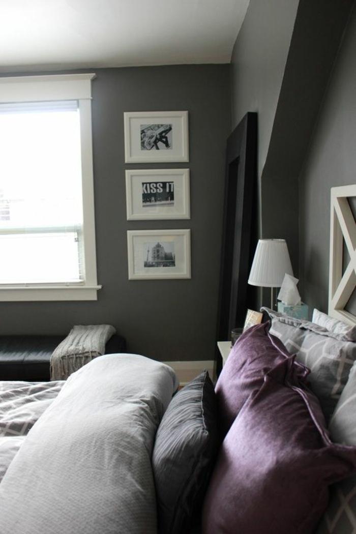 1001  ides pour la dcoration dune chambre gris et violet