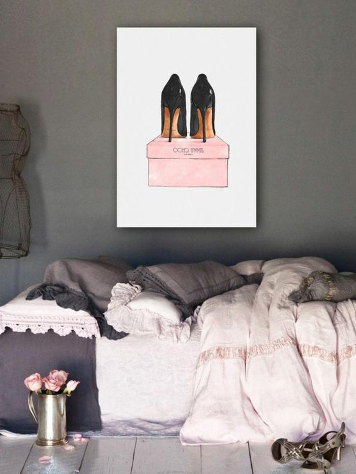 1001  ides pour chambre rose et gris les nouvelles tendances dans la dco dintrieur
