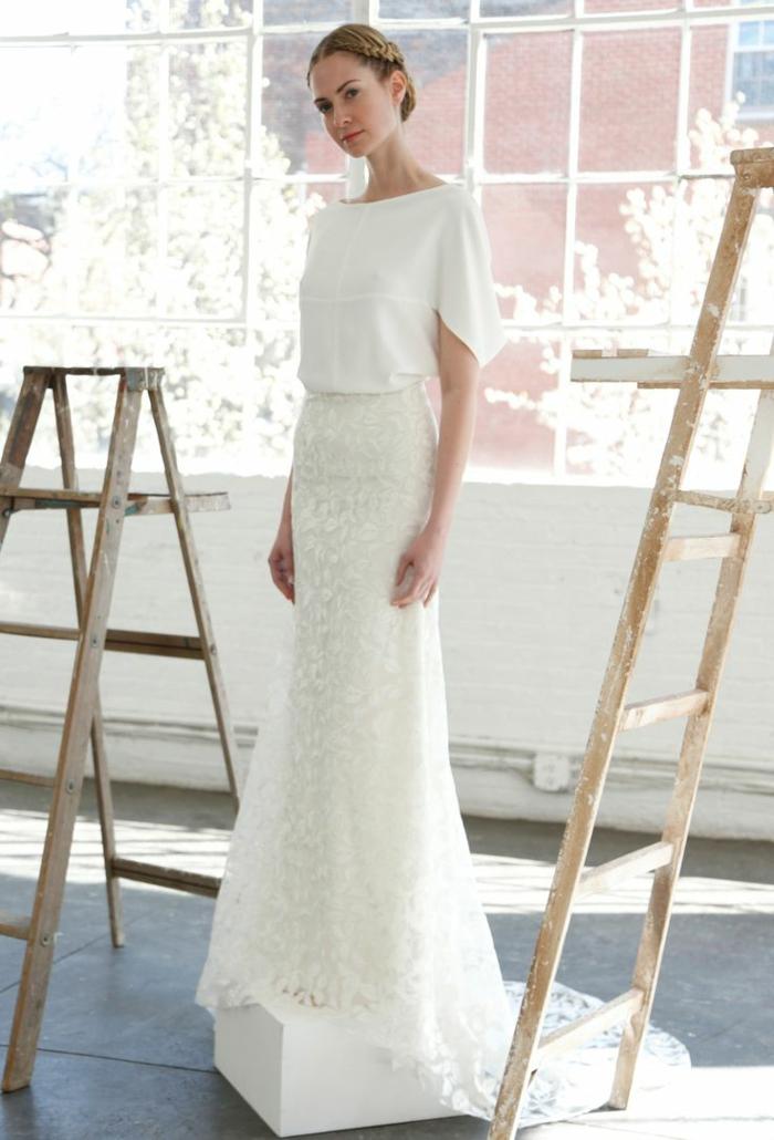 1001  images de la robe de marie moderne pour choisir la