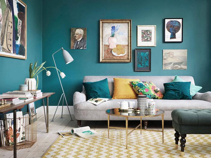 1001 idees deco avec la couleur bleu canard pour une ambiance apaisante et naturelle