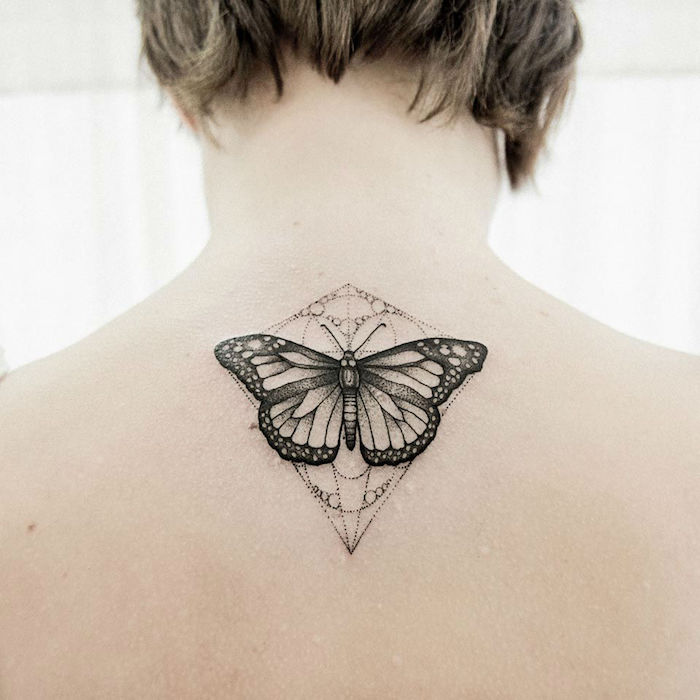 1001 + Designs De Tatouage Papillon Pharamineux
