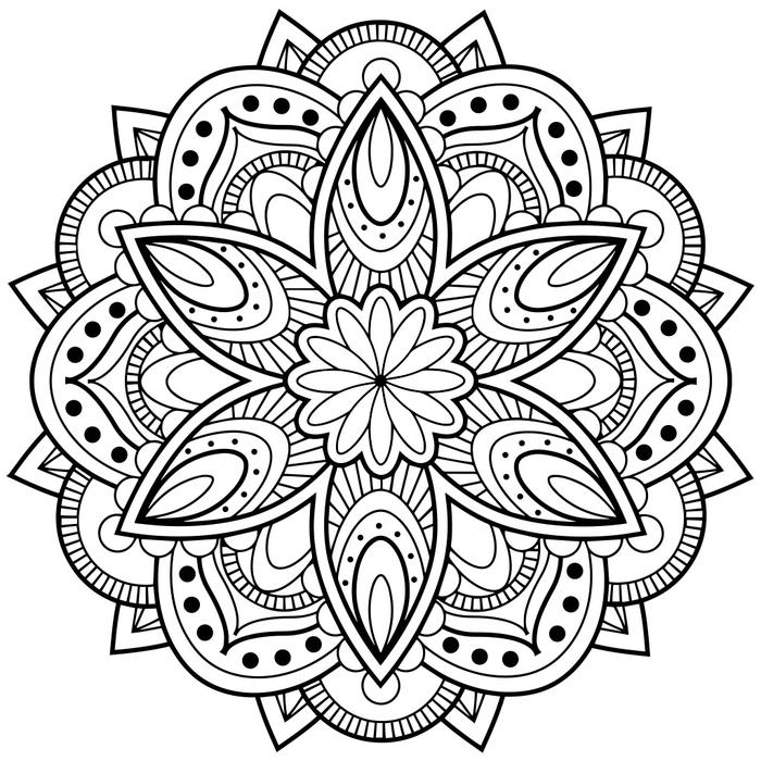 colorier en ligne imprimer mandala anti stress mandala anti stress