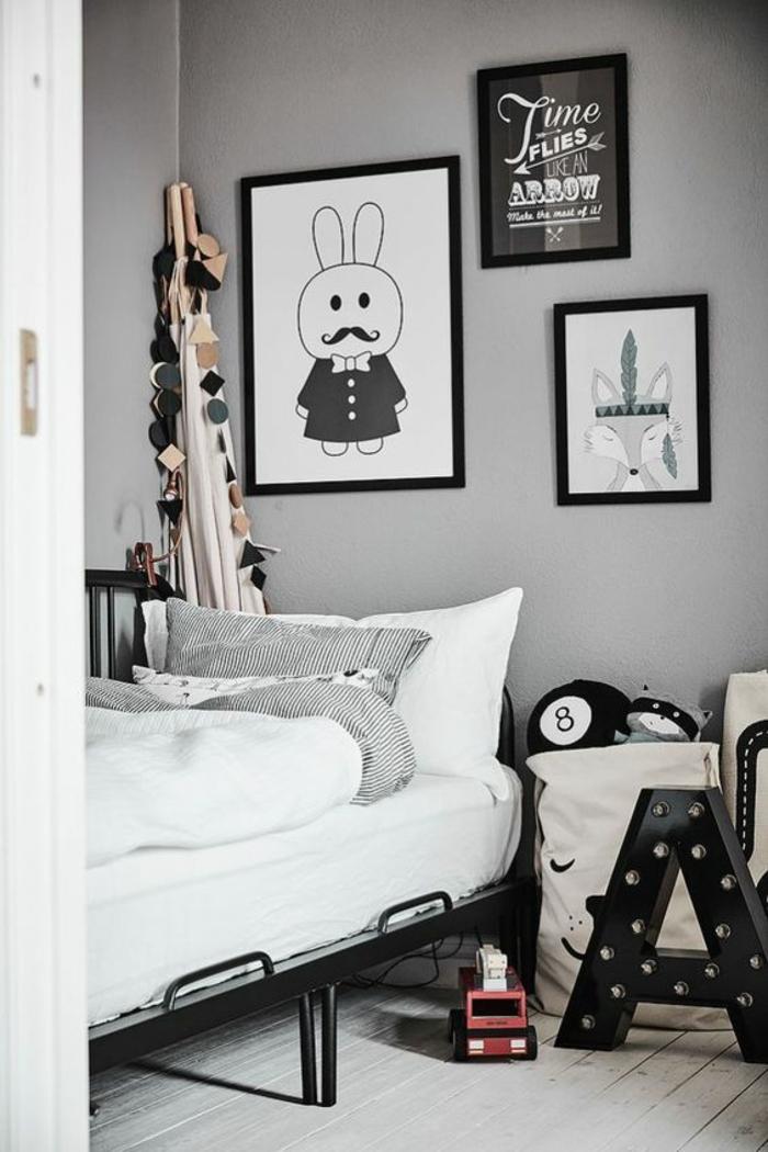 Deco Chambre Lit Noir Beautiful Blog Dco Design Joli