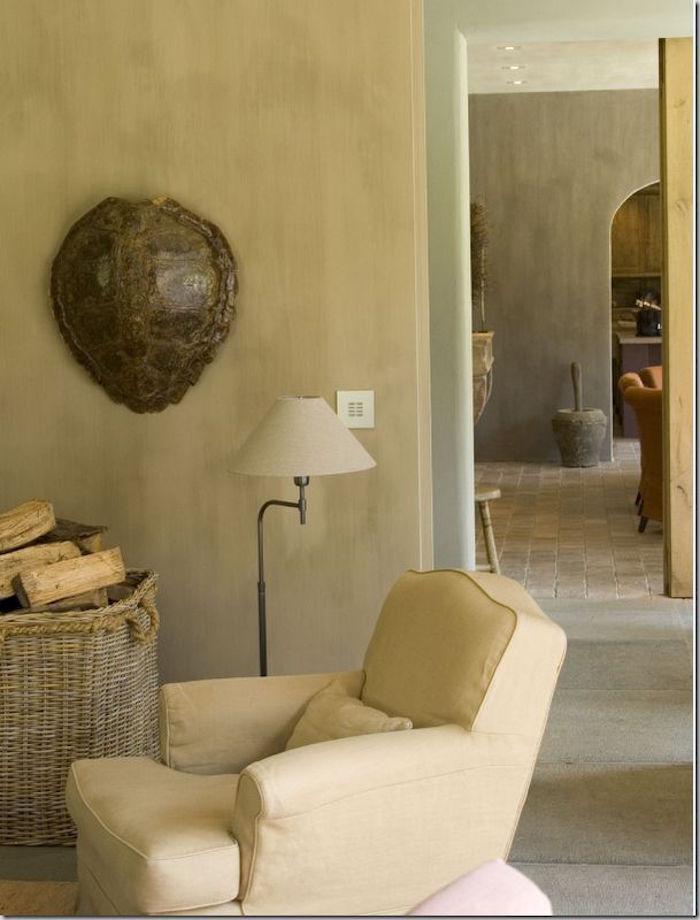 peinture interieur maison beige