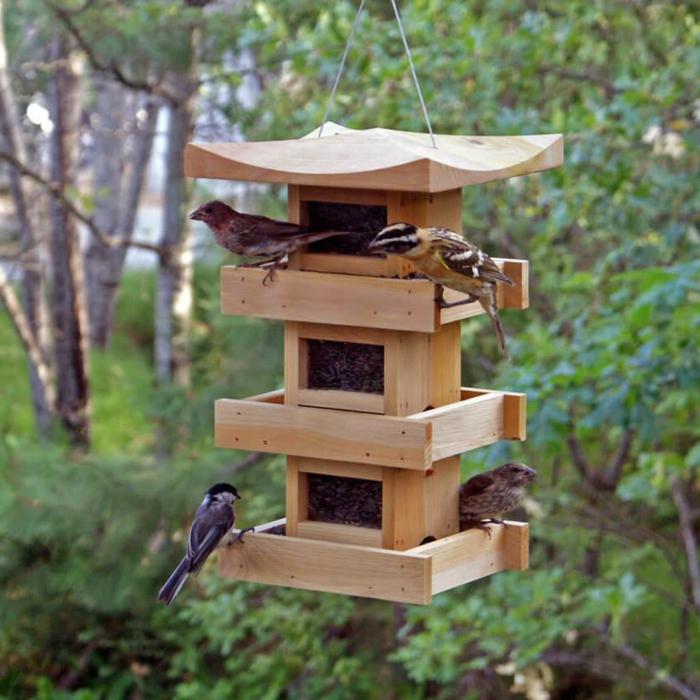 Mangeoire Oiseaux Fabriquer HW28 HumaTraffin