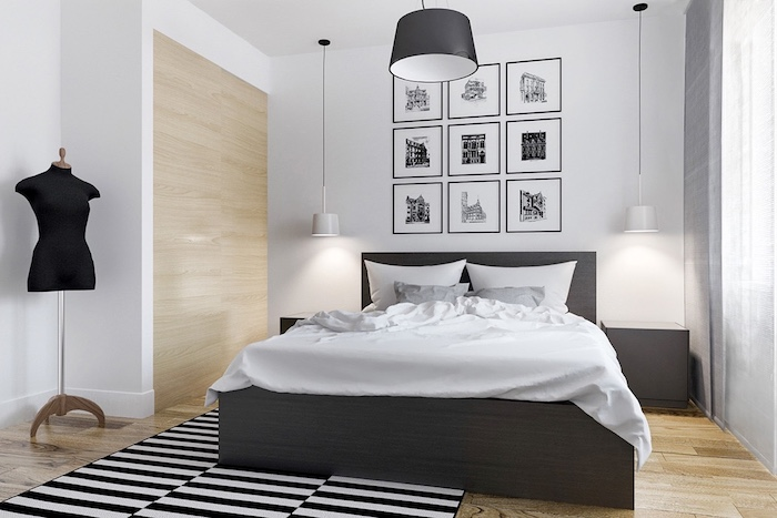 Modele Chambre Noir Et Blanc - Buringer.top