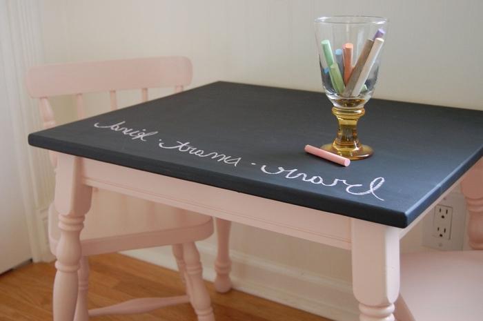 1001 ides originales pour une table relooke  bas prix