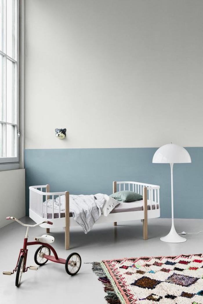 1001 Ides pour une chambre bb en bleu canard  des solutions dco astucieuses