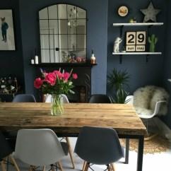 Living Room Decor Ideas Grey Walls Layout Sofa And Loveseat 1001+ Idées Pour Aménager Ses Espaces En Couleur Bleu Gris ...