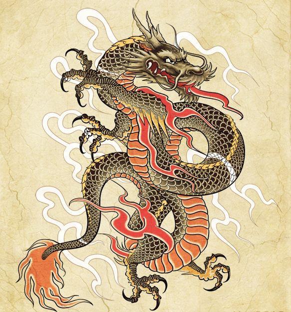 1001 Ides Tatouage Dragon Japonais Mythologie Et