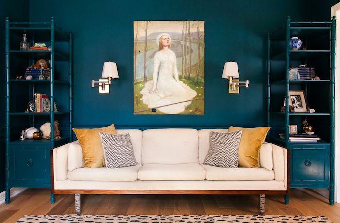 Deco Interieur Bleu Beautiful Un Encadrement De Porte