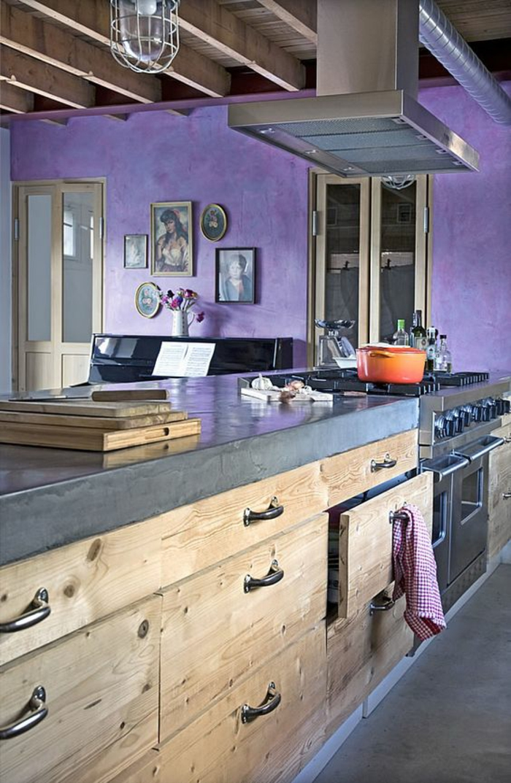 peinture pour plan de travail cuisine