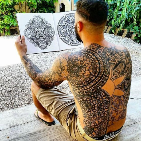 20 Mandala Tattoos Back Pieces Ideas And Designs