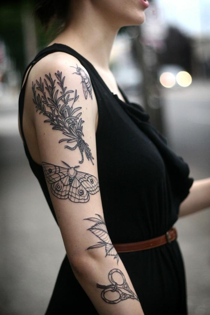 1001  ides de designs uniques de tatouage manchette