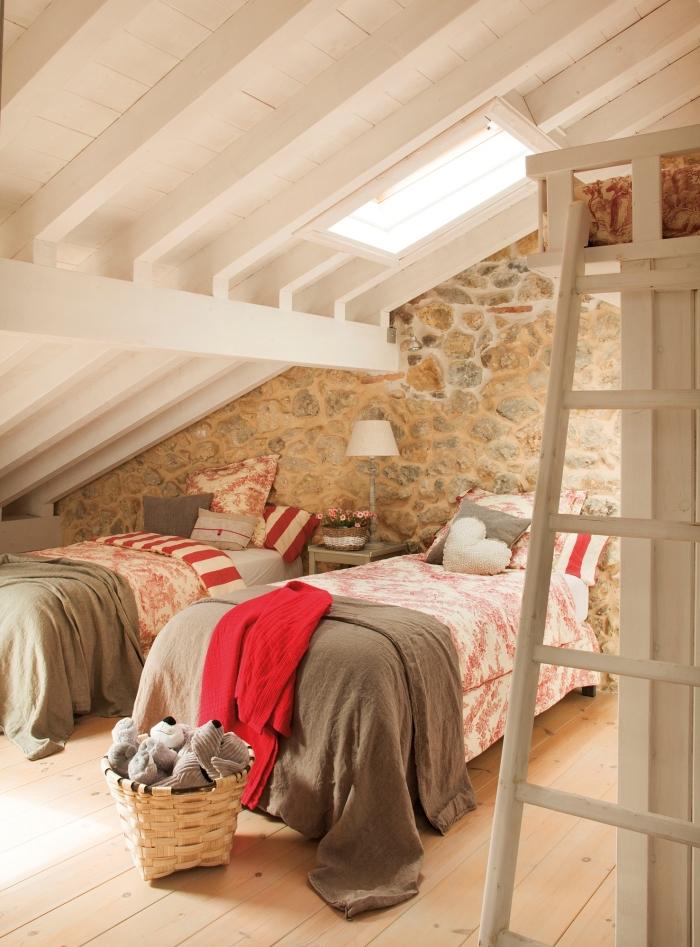 1001  exemples parfaits dune chambre sous combles