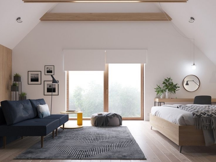 Idee Deco Chambre Mansarde Best Decoration Chambre