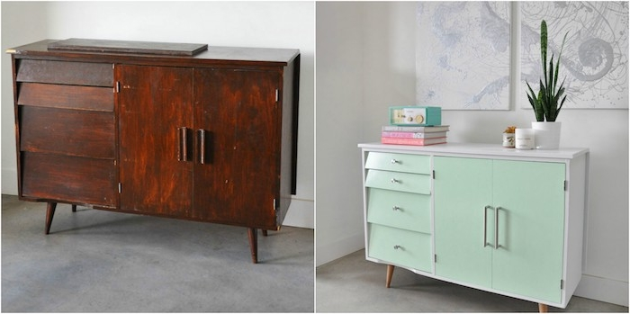 idees comment peindre un meuble ancien
