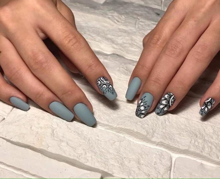 1001 idees pour le nail art mat