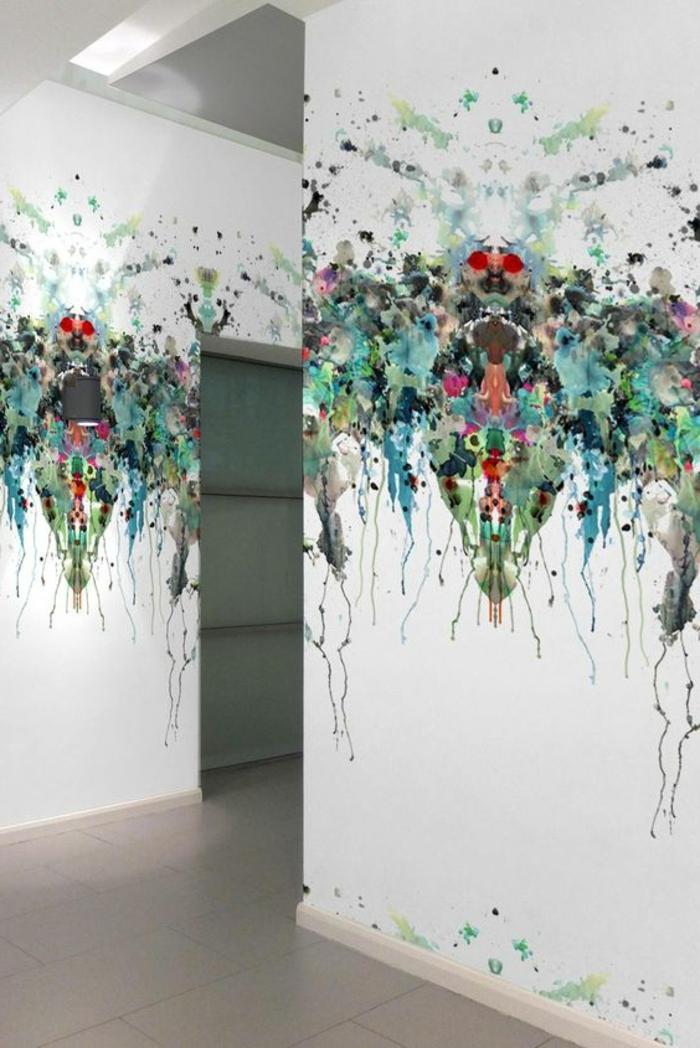 1001 Ides pour un papier peint trompe lil  les dcos qui produisent des grands effets