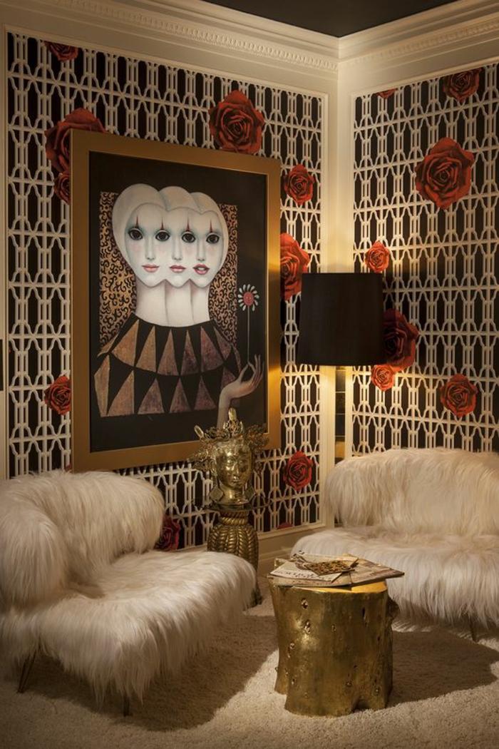 1001 Ides pour un salon moderne de luxe  comment rendre la pice resplendissante et pleine d