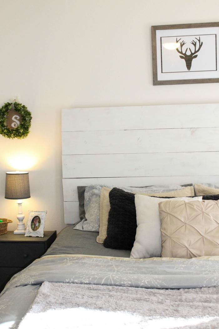 1001  modles pour une tte de lit en palette de bois diy