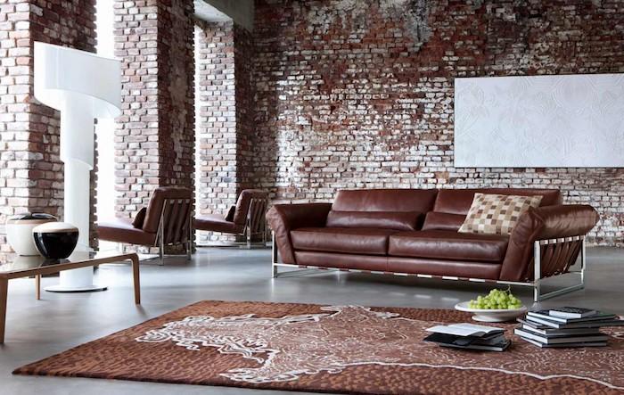 Tapis Style Industriel Pas Cher - Décoration de maison idées de ...