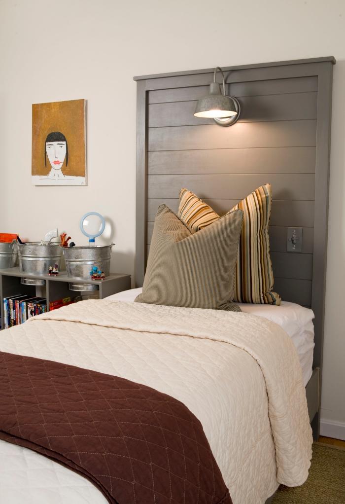 La tte de lit en palette de bois  fabriquer soimme en plusieurs modles inspirants  OBSiGeN