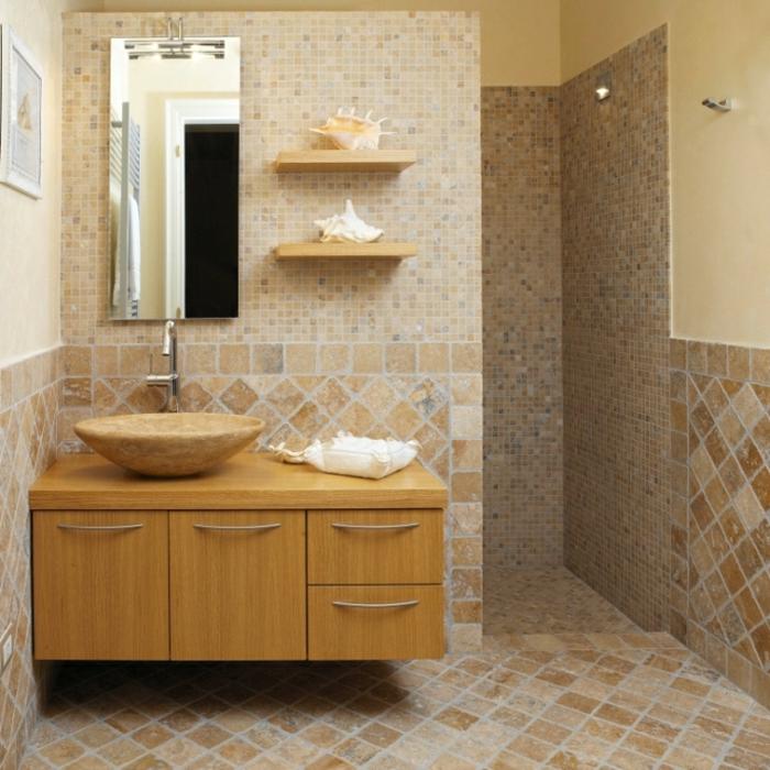 Traitement Travertin Douche salles de bains n mes gard 30 traitement travertin leroy merlin oh